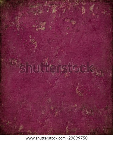 berry berry grunge plaster with burnt frame