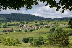 Berze le Chatel in Burgundy, France