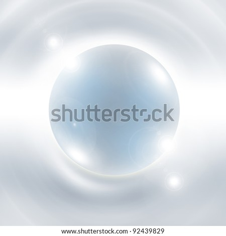 Best Abstract Glass Glossy Sphere Background