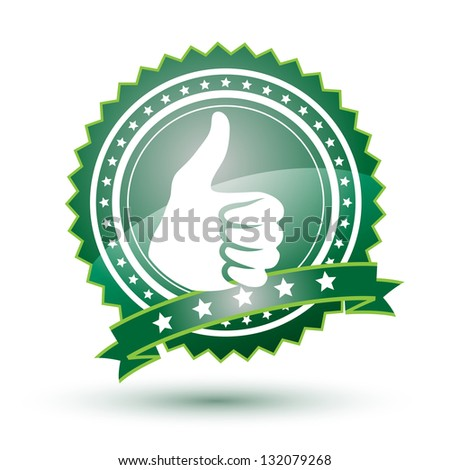 Best choice green badge