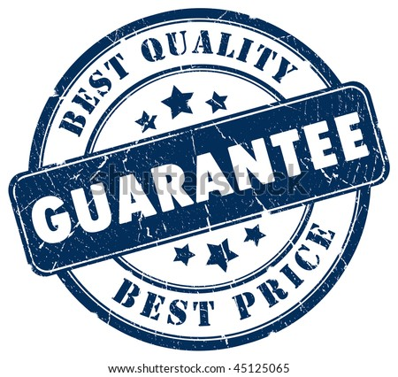 Best choice guarantee stamp
