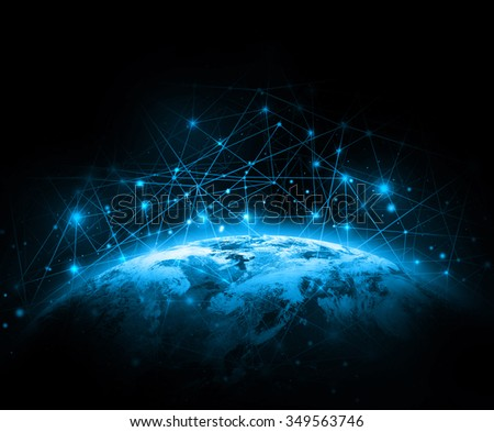 Shutterstock Best Internet Concept of global business from concepts series. Elements of this image furnished by NASA
