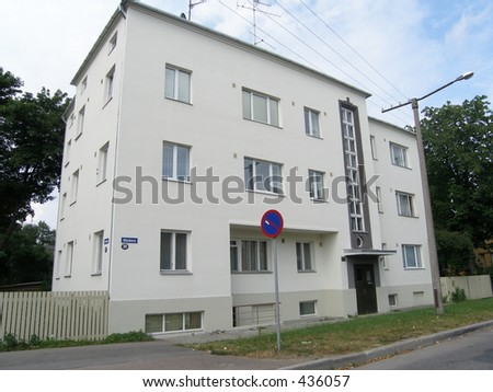 Best repaired building - stock photo