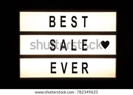 Best sale ever hanging light box sign board. #782349625