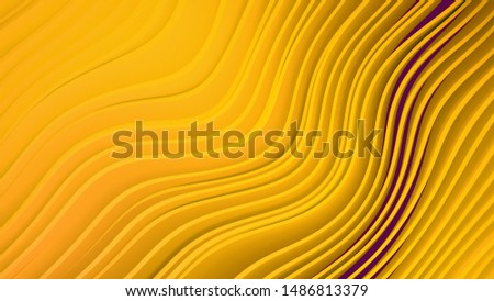 Best wavy yellow 3D lines for a splash of background color for any of your presentations.