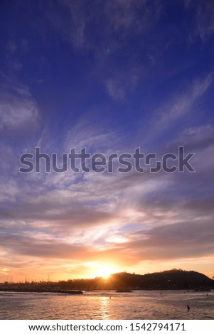 Besutiful Scenic view of Stearns Wharf, California, America #1542794171