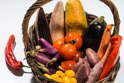 Beta carotene vegetable set