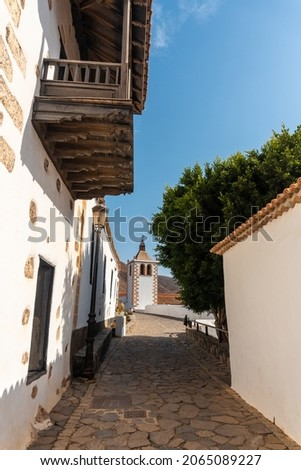 Betancuria is located on the west coast of the island of Fuerteventura, Canary Islands. Spain