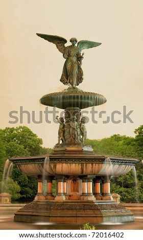 bethesda fountain central park nyc. Central Park in New York