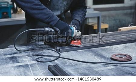 Better quality, better speed. Mechanic steel. Grinding. #1401530489