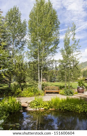 Betty Ford Meditation Garden in Vail Colorado