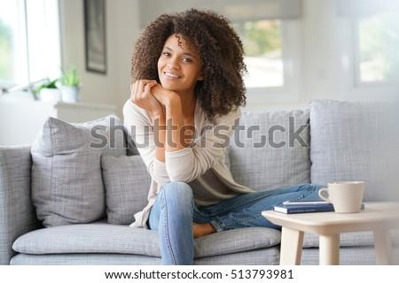 beuatiful mixed race woman...