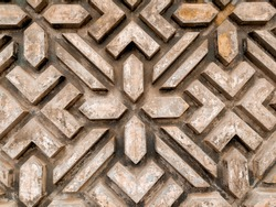 bevel embossed concrete wall background