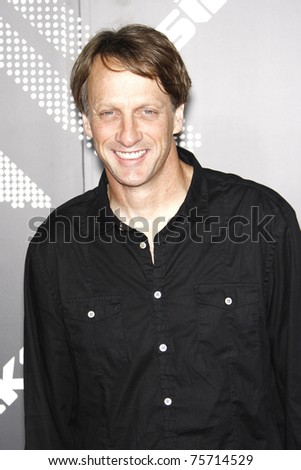 BEVERLY HILLS - APR 20: Tony Hawk at the launch party for the new T-Mobile Sidekick 4G in Beverly Hills, California on on April 20, 2011.
