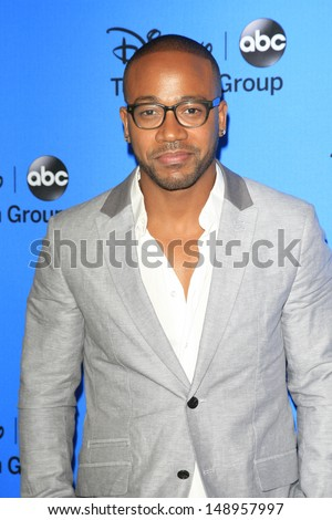 BEVERLY HILLS - AUG 4: Columbus Short at the 2013 Television Critics Association's Summer Press Tour - Disney/ABC Party at The Beverly Hilton Hotel on August 4, 2013 in Beverly Hills, California