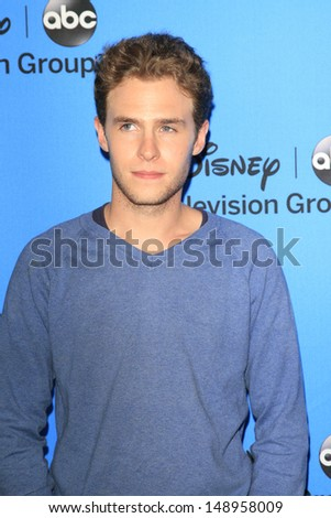 BEVERLY HILLS - AUG 4: Iain De Caestecker at the 2013 Television Critics Association's Summer Press Tour - Disney/ABC Party at The Beverly Hilton Hotel on August 4, 2013 in Beverly Hills, California