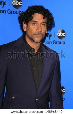 BEVERLY HILLS - AUG 4: Naveen Andrews at the 2013 Television Critics Association's Summer Press Tour - Disney/ABC Party at The Beverly Hilton Hotel on August 4, 2013 in Beverly Hills, California - stock photo