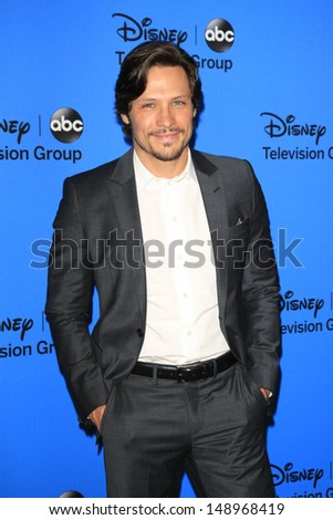 BEVERLY HILLS - AUG 4: Nick Wechsler at the 2013 Television Critics Association's Summer Press Tour - Disney/ABC Party at The Beverly Hilton Hotel on August 4, 2013 in Beverly Hills, California
