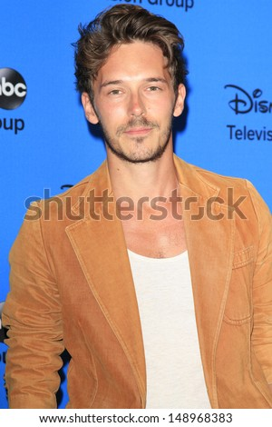 BEVERLY HILLS - AUG 4: Sam Palladio at the 2013 Television Critics Association's Summer Press Tour - Disney/ABC Party at The Beverly Hilton Hotel on August 4, 2013 in Beverly Hills, California