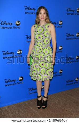 BEVERLY HILLS - AUG 4: Sophie Lowe at the 2013 Television Critics Association's Summer Press Tour - Disney/ABC Party at The Beverly Hilton Hotel on August 4, 2013 in Beverly Hills, California