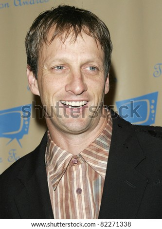 BEVERLY HILLS, CA - DEC 1: Tony Hawk at the 6th annual Family Television Awards at the Beverly Hilton Hotel on December 1, 2004 in Los Angeles, California