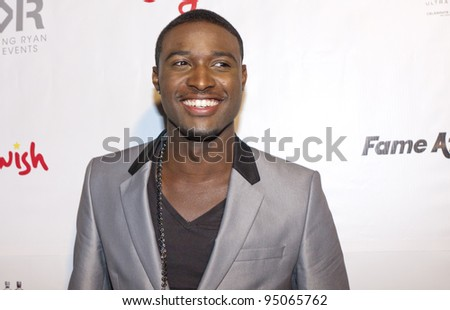 BEVERLY HILLS, CA - FEBRUARY 12: JC Jones at the Grammy after party at the Playboy Mansion on February 12, 2012 in Beverly Hills, California. (Photo by Jonathan S. Nowak)