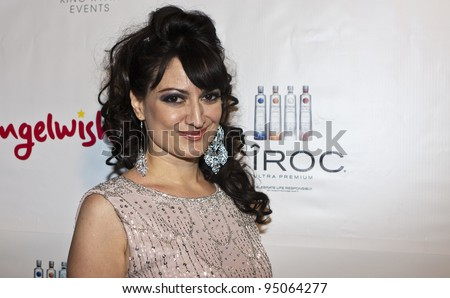 BEVERLY HILLS, CA - FEBRUARY 12: Vikki Lizzi attends the Grammy after party at the Playboy Mansion on February 12, 2012 in Beverly Hills, California. (Photo by Jonathan S. Nowak)