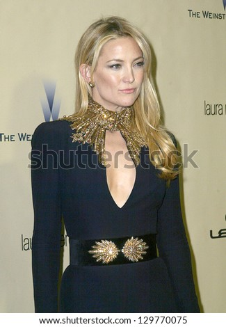 BEVERLY HILLS, CA - JAN. 13: Kate Hudson arrive at the Weinstein Company's 2013 Golden Globes After Party on Sunday, January 13, 2013 at the Beverly Hilton Hotel in Beverly Hills, CA.