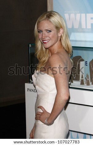BEVERLY HILLS, CA - JUNE 16: Brittany Snow at the 2011 Women In Film Crystal + Lucy Awards at the Beverly Hilton Hotel in Beverly Hills, California on June 16, 2011.