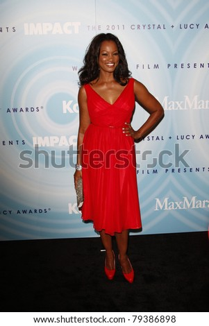 BEVERLY HILLS, CA - JUNE 16: Garcelle Beauvais at the 2011 Women In Film Crystal + Lucy Awards at the Beverly Hilton Hotel in Beverly Hills, California on June 16, 2011.