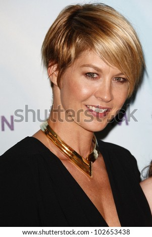 BEVERLY HILLS, CA - JUNE 16: Jenna Elfman at the 2011 Women In Film Crystal + Lucy Awards at the Beverly Hilton Hotel in Beverly Hills, California on June 16, 2011.