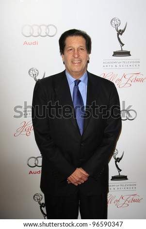 BEVERLY HILLS, CA - MAR 1: Peter Roth at the Academy of Television Arts & Sciences 21st Annual Hall of Fame Ceremony at the Beverly Hills Hotel on March 1, 2012 in Beverly Hills, California