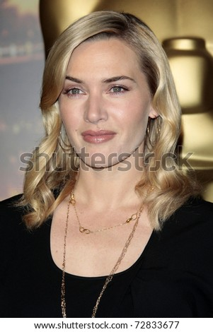 BEVERLY HILLS - FEB 2: Actress Kate Winslet attends the Academy Awards nominee luncheon in Beverly Hills, California on  February 2, 2009.