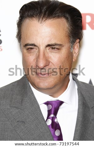 BEVERLY HILLS - FEB 7:  Andy Garcia at the AARP Magazine's 10th Annual Movies For Grownups Awards at the Beverly Wilshire Four Seasons Hotel, Beverly Hills, California on February 7, 2011.