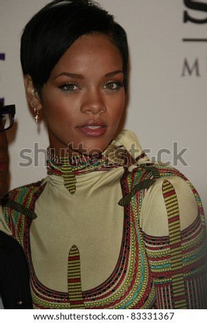 BEVERLY HILLS - FEB 9: Rihanna at the Clive Davis Pre-GRAMMY Party 2008 held at the Beverly Hilton Hotel in Beverly Hills, California on February 9, 2008