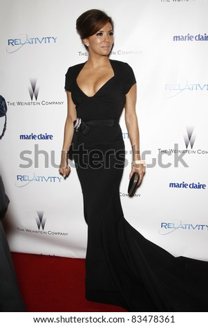 BEVERLY HILLS - JAN 16: Eva Longoria at The Weinstein Company And Relativity Media\'s 2011 Golden Globe Awards Party in Beverly Hills, California on January 16, 2011
