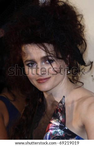 BEVERLY HILLS - JAN 16: Helena Bonham Carter arrives at The Weinstein Company And Relativity Media\'s 2011 Golden Globe Awards Party at Beverly Hilton Hotel on January 16, 2011 in Beverly Hills, CA