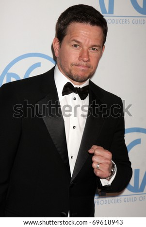 BEVERLY HILLS - JAN 22:  Mark Wahlberg arrives at the 22nd Annual Producers Guild Awards at Beverly Hilton Hotel on January 22, 2011 in Beverly Hills, CA