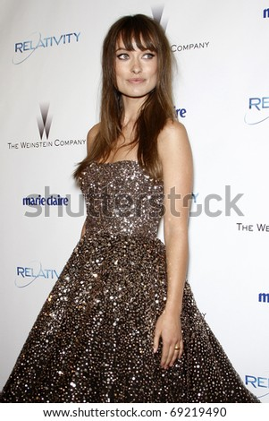 BEVERLY HILLS - JAN 16:  Olivia Wilde arrives at The Weinstein Company And Relativity Media\'s 2011 Golden Globe Awards Party at Beverly Hilton Hotel on January 16, 2011 in Beverly Hills, CA