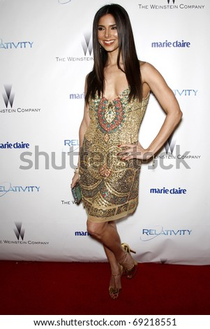 BEVERLY HILLS - JAN 16: Roselyn Sanchez arrives at The Weinstein Company And Relativity Media\'s 2011 Golden Globe Awards Party at Beverly Hilton Hotel on January 16, 2011 in Beverly Hills, CA