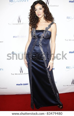BEVERLY HILLS - JAN 16: Sofia Milos at The Weinstein Company And Relativity Media\'s 2011 Golden Globe Awards Party in Beverly Hills, California on January 16, 2011