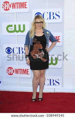 BEVERLY HILLS - JUL 29: Kirsten Vangsness at the 2012 TCA CBS, Showtime and The CW Summer Press Tour party on July 29, 2012 in Beverly Hills, California