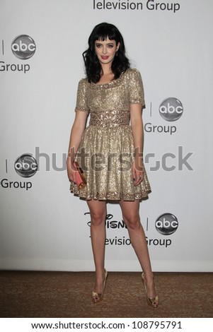 BEVERLY HILLS - JUL 27: Krysten Ritter at the 2012 Disney and ABC TCA Summer Press Tour at the Beverly Hilton Hotel on July 27, 2012 in Beverly Hills, California