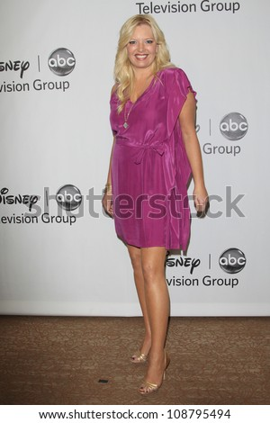 BEVERLY HILLS JUL 27 Melissa Peterman at the 2012 Disney and ABC TCA Summer Press Tour at the Beverly Hilton Hotel on July 27 2012 in Beverly Hills California