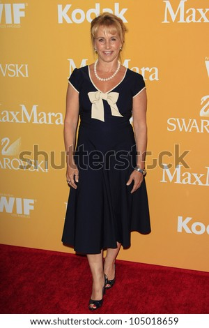 BEVERLY HILLS - JUN 12: Gabrielle Carteris at the 2012 Women In Film Crystal + Lucy Awards held at The Beverly Hilton Hotel on June 12, 2012 in Beverly Hills, California