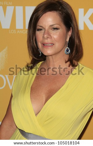 BEVERLY HILLS - JUN 12: Marcia Gay Harden at the 2012 Women In Film Crystal + Lucy Awards held at The Beverly Hilton Hotel on June 12, 2012 in Beverly Hills, California
