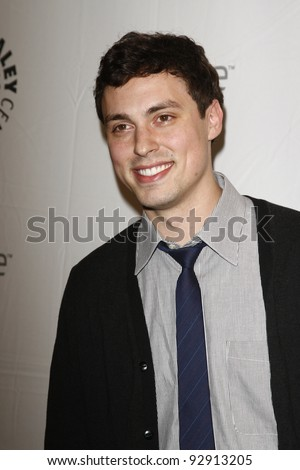 BEVERLY HILLS - MAR 12:  John Francis Daley arriving at the Paleyfest 2011 event honoring Freaks and Geeks/Undeclared in Beverly Hills, California on March 12, 2011.