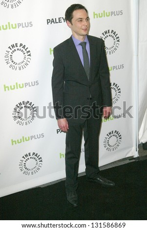 BEVERLY HILLS - MARCH 13: Jim Parsons arrives at the 2013 Paleyfest \