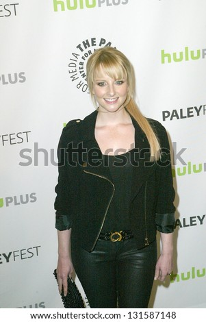 BEVERLY HILLS - MARCH 13: Melissa Rauch arrives at the 2013 Paleyfest \