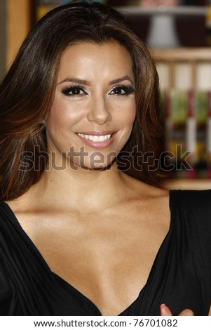 BEVERLY HILLS - MAY 6: Eva Longoria signs copies of her new cookbook 'Eva's Kitchen' at Williams Sonoma Home  in Beverly Hills, California on May 6, 2011.